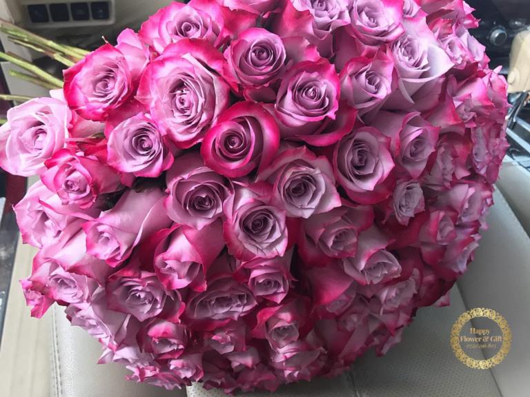 Buchet 61 Trandafiri Mov